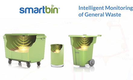 {Smart City waste management - wireless solution providers}